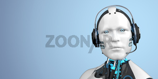 Humanoid Robot Callbot