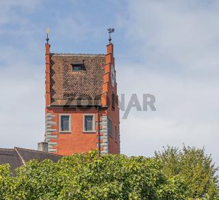 Oberer Turm,  Stadttor Meersburg am Bodensee