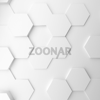 Abstract modern homeycomb background