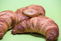 Macro shoot of croissants