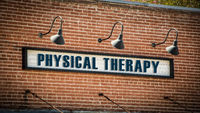 Street Sign to Physical Therapy