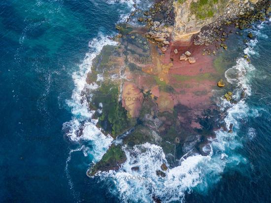 North Turimetta reef from above