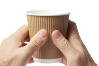 Cup of Coffee in Hands