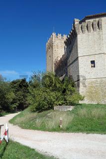 Castello della Rancia in italien