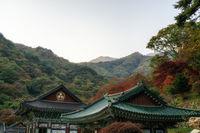 yongmunsa temple in autumn