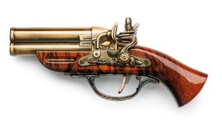 Vintage decorative pistol