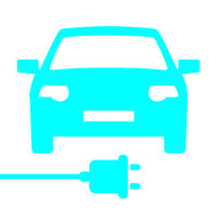 car charging station icon.eps