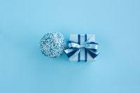Blue Christmas holiday gift