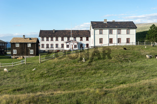 Bauernhof am Dovrefjell