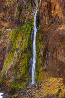 Waterfall Veu da Noiva (Bride's veil) - Madeira Portugal