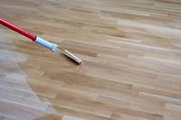 Varnishing Lacquering Parquet Floor