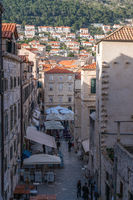Streets in Dubrovnik Old town
