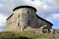 Medieval Raseborg Castle Ruins
