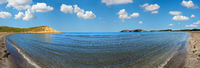 Sandy beach view, Vlore, Albania