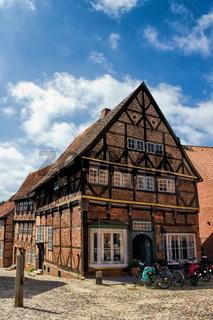 Altes Haus in Mölln, Deutschland