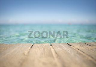Türkises Meer - Bildhintergrund