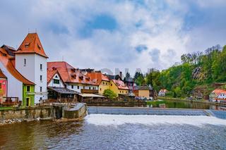Houses of Cesky Krumlov