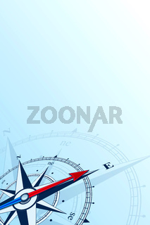 compass east background illustration