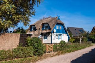 Häuser auf dem Fischland-Darß in Ahrenshoop