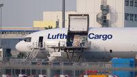 Lufthansa Cargo near terminal