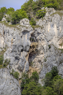Felswand im Donautal bei Beuron