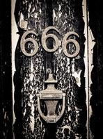 Scary 666 Door