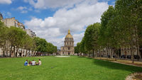 Der Invalidendom in Paris, die Grabstätte von Napoleon