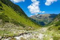Bergbach im Hochgebirge, Ötztaler Alpen