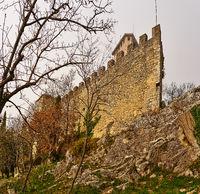 Guaita fortress on Monte Titano in San Marino