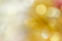 Silver and gold bokeh background