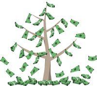 Geld wächst auf Baum.