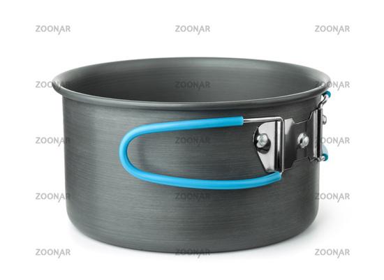 Portable camping cooking pot