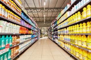Supermarkt mit einer großen Produktpalette