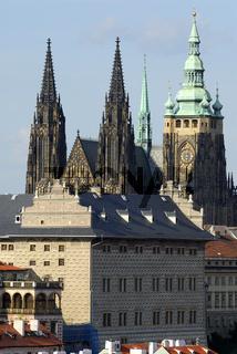 Hradschin und Veitsdom Prag