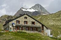 Schutzhütte Cabane de Chanrion, Val de Bagnes, Wallis, Schweiz