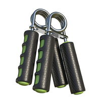 Two fitness hand grippers 3D