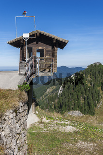 Weather station on Tegelberg vertical