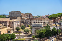 Colosseum  Arch of Titus