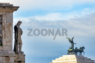 Arch of Constantine and the Vittoriano