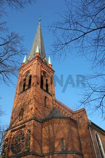 Kirche von Peter Paul in bad  Oldesloe