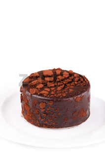 Chocolate mousse round cake