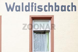 Bahnhofsgebäude Waldfischbach