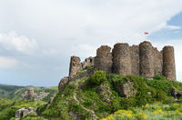 Amberd fortress ruins in Armenia