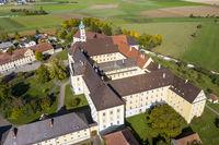 Dillinger Franziskanerinnen Province Maria Medingen Monastery Mödingen, Diocese of Augsburg, Bavaria, Germany, Europe