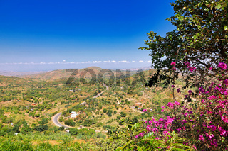 Ausblick am Kamuzu Viewpoint ins Tal, Malawi | view from Kamuzu Viewpoint in the valley, Malawi