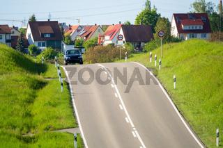 road to Herrenberg Germany