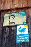 Schilder im Allgaeu. 011