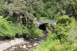 Parklandschaft am Blair Castle in Schottland