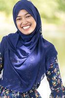 muslim girl portrait