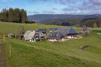 Oberfallengrundhof bei Gütenbach im Schwarzwald